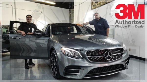 2018 Mercedes Ceramic Window Film